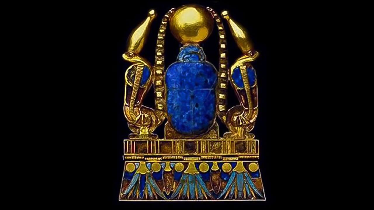 Ancient Egyptian Jewel The Cobras Of Protectionimage