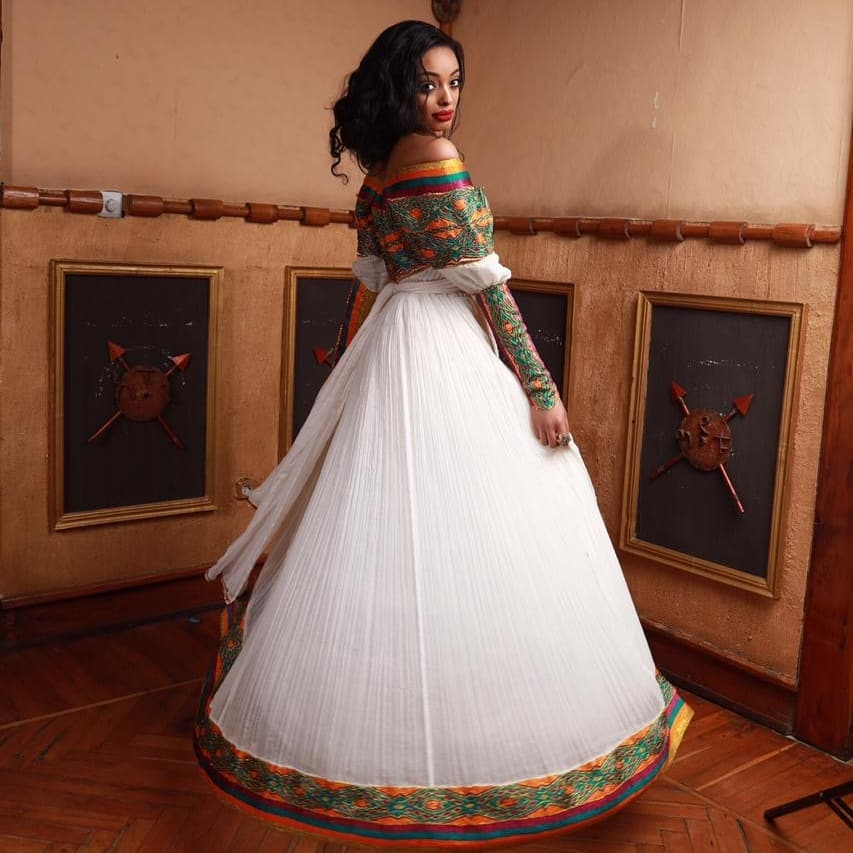 96fbba4ed95af Made In Ethiopia: The Habesha Kemis, It's Details & Compliments